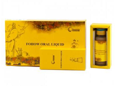 FOHOW ORAL LIQUID 4 ampułki po 30 ml