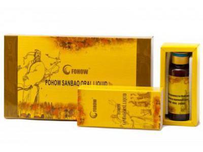 FOHOW SANBAO ORAL LIQUID 4 flakony po 30 ml