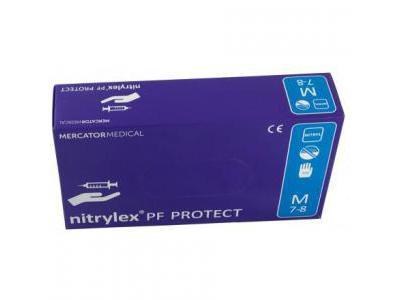 NITRYLEX Rękawiczki Nitrylowe M-Blue