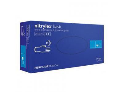 NITRYLEX Rękawiczki Nitrylowe S-Blue