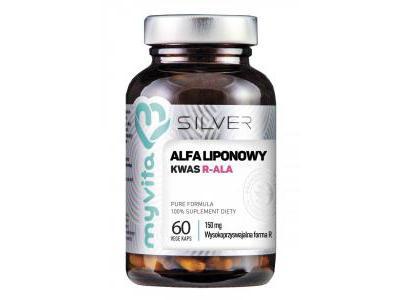 Kwas R-ALA liponowy 150 mg 60 kapsułek MyVita SILVER