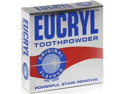 EUCRYL Toothpowder ORIGINAL proszek 50g