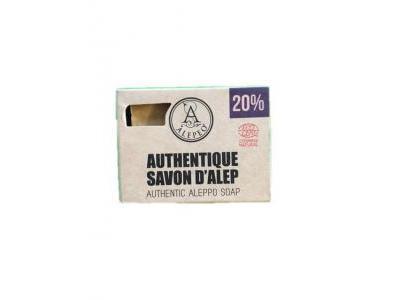 Mydło Aleppo naturalne 20% 200g