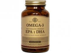 SOLGAR OMEGA-3 NATURALNE ŹRÓDŁO EPA i DHA 60 kaps.