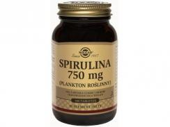 SOLGAR SPIRULINA 750 mg 100 tabl.
