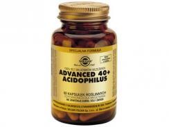 SOLGAR ADVANCED 40+ ACIDOPHILUS 60 kaps.