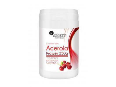 Aliness Acerola naturalna witamina C proszek 250 g