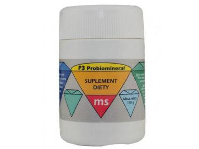 S-Probio P3 Ms Probiominerał 150g proszek