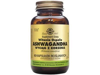 SOLGAR Ashwagandha extract 60 kaps.