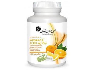 Aliness Witamina C 1000 mg Plus 100 kaps