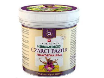 HERBAMEDICUS Czarci Pazur z rutyną 250 ml