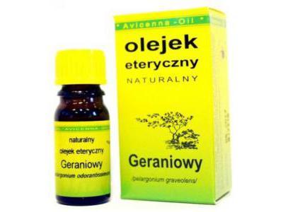 Olejek geraniowy 7 ml AVICENNA