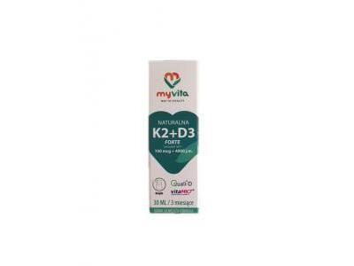 Witamina D3 + K2 FORTE krople 30 ml MyVita