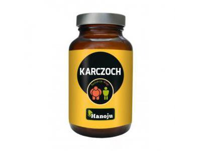 Karczoch ekstrakt 400 mg 90 kaps. Hanoju