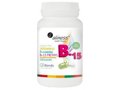 Aliness Witamina B-15 Methyl 100 kaps.